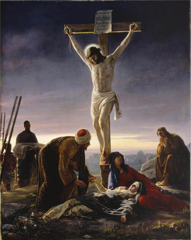 Atonement Crucifixion Jesus Christ Mormon