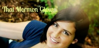 Glowing Mormon girl