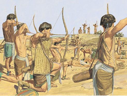 book of mormon battle