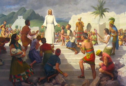 Christ appears to the nephites