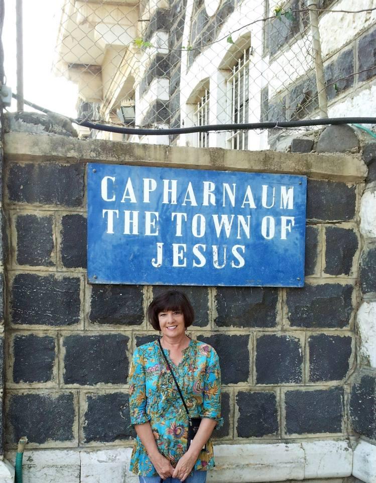 DeAnn Sadleir off-the-beaten-path in Capernaum