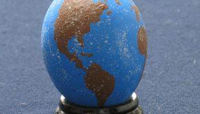 Earth Easter Egg Design