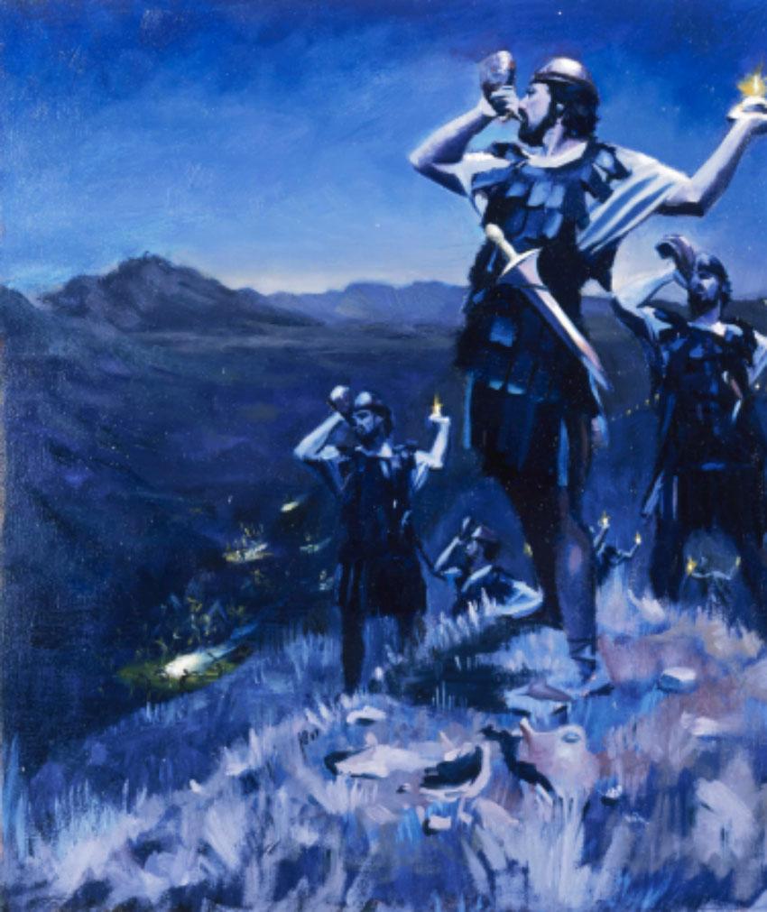 Gideon's Army Defeat the Midianites