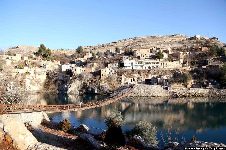 Village of Halfeti, Turkey