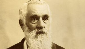 Black and White Photo of Lorenzo Snow