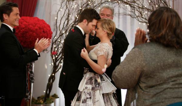 Leslie and Ben get married