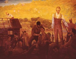 Joseph Smith heals the people of Nauvoo from Malaria