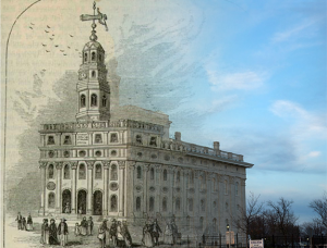 Blended Old and New Nauvoo Temples