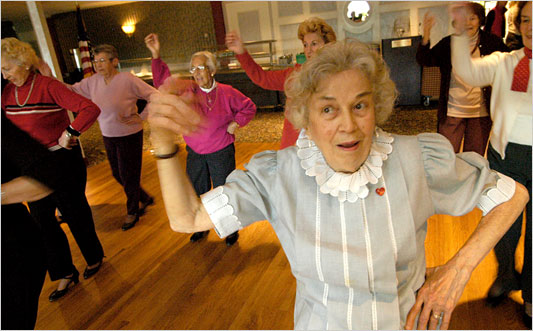 Nursing Home Dance off