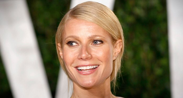 Gwyneth Paltrow smiles on the red carpet