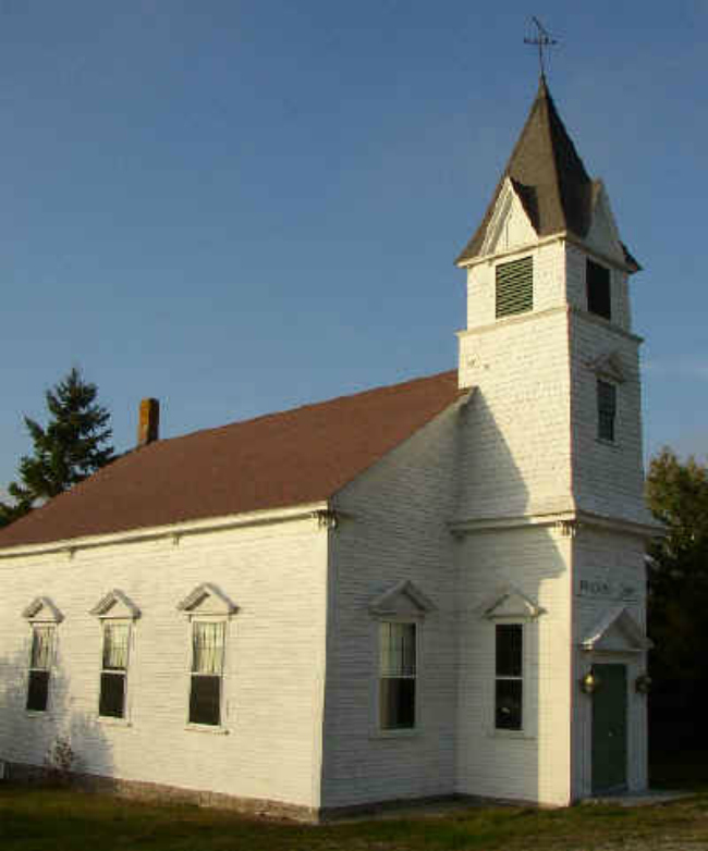 Off-the-beaten-path at Maine's Rock Bound Church Brooklin