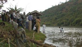Mormon Missionaries baptize Rwandan converts