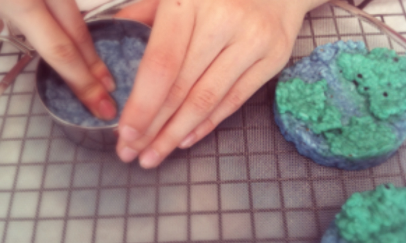 Seed paper globe craft project