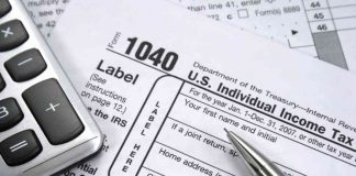 Filling out taxes