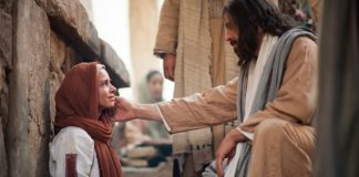 Jesus Heals Woman with an Issue of Blood
