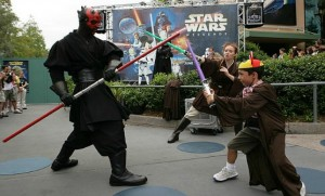 Darth Maul at MGM Studios