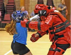 radKIDS teaching child safety defense lessons