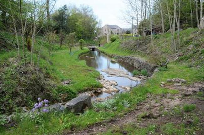 Baptismal Site in Chatburn, England