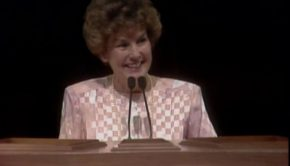 Barbara W. Winder speaks at general conference