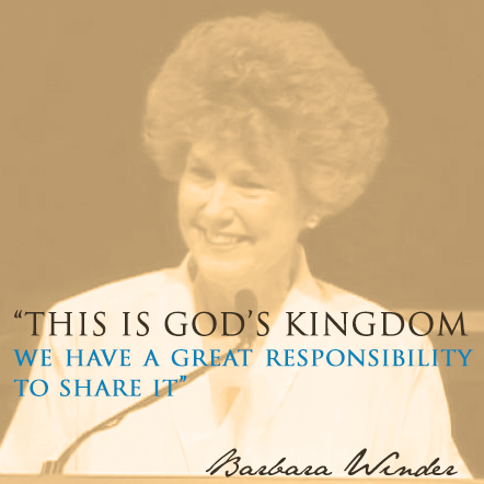 This is God's Kingdom We Have a Great Responsibility to Share it