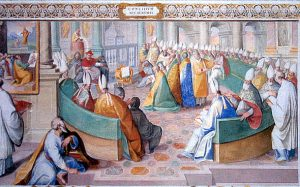depiction of the Council of Nicaea