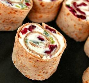 Cranberry Feta Pinwheels from Food.com
