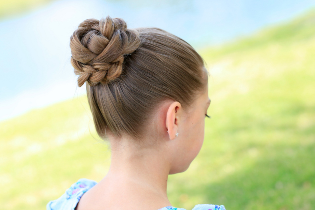 cute girl hairstyles short hair : ... weddings, flower girl styles, gymnastics, ballet, or just a day out