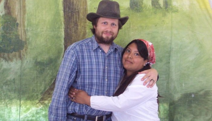 Mormon Pacifist Jeremiah Stoddard and his wife