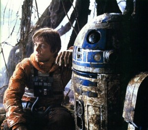 Luke and R2-D2
