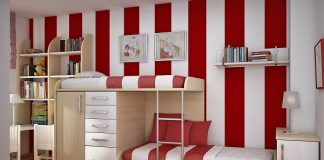 red in decor