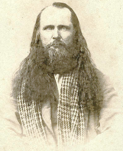 Portrait of Porter Rockwell.
