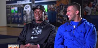 Kyle Van Noy and Ziggy Ansah