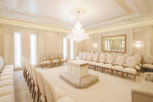 mormon temple sealing room