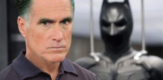 Mitt Romney as Batman - Bruce Wayne