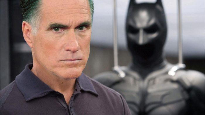 Mitt Romney as Batman - Bruce Wayne