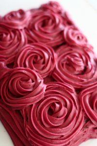 frosting swirls