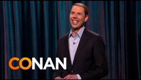 Mormon stand-up comedian on 'Conan'