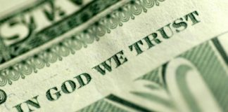 US currency - In God We Trust