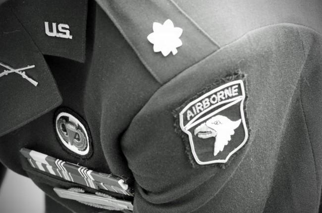 World War II 101st Airborne uniform