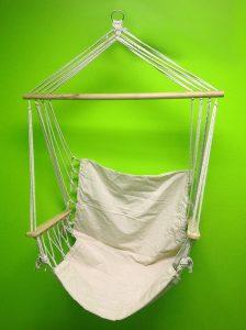 outdoor indoor canvas swing