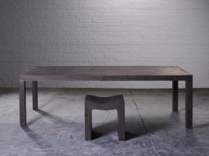 outdoor indoor dining table and bench seat