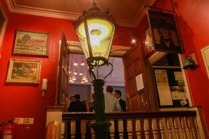 outdoor indoor lamp post inside
