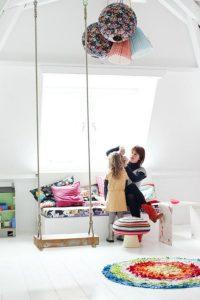 outdoor indoor swing for kids