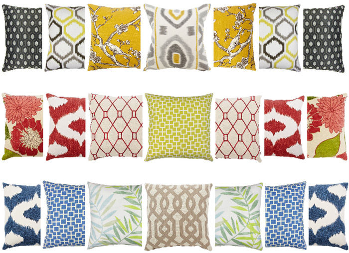 ... Outdoor Indoor Throw Pillows
