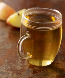 steamed apple juice