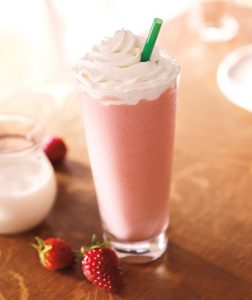strawberries and creme