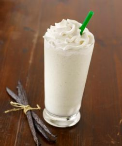 white chocolate frap