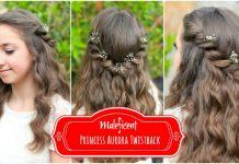 Aurora Twistback Cute Girls Hairstyles