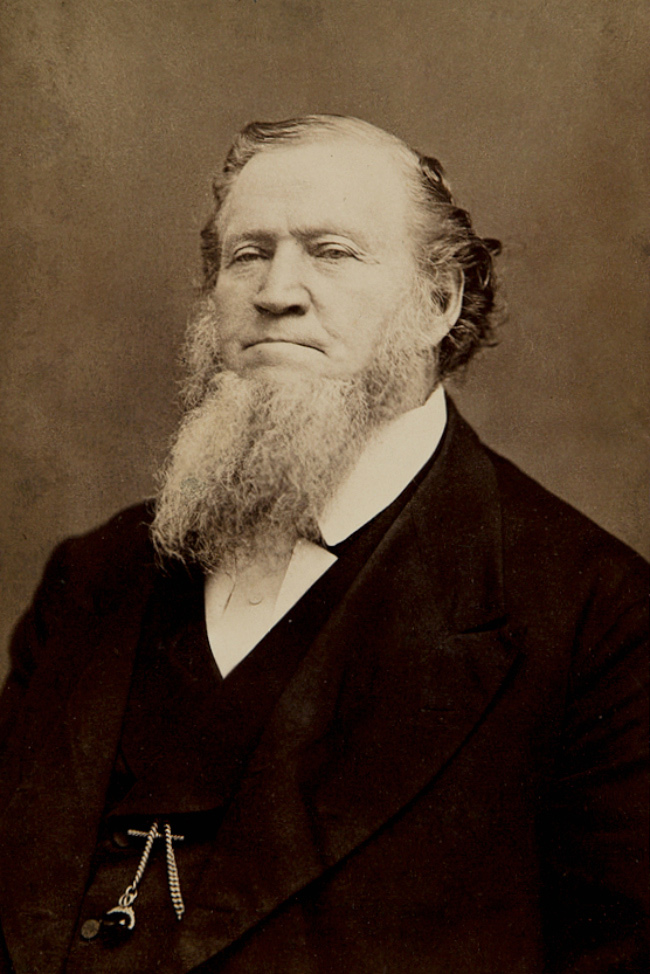 Brigham Young 1870 by Charles William Carter