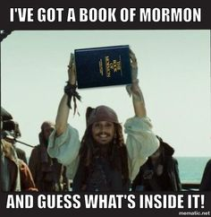 Captain Jack and Book of Mormon